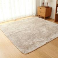 可水洗水草绒毛客厅地毯茶几卧室床边长方形榻榻/地垫