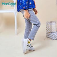 【129元3件】巴拉巴拉旗下MarColor马卡乐2019春新品男童潮流哈伦版型针织长裤
