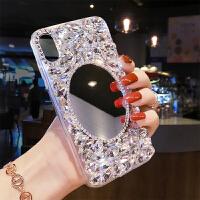奢华水钻苹果x手机壳女款iphone6splus个性创意7网红全包软胶8