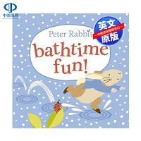 英文原版 彼得兔兔子洗澡的乐趣 Peter Rabbit Bathtime Fun 低幼儿童英语启蒙读物