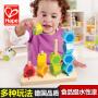 德国hape数字堆堆乐儿童玩具木制串珠分类宝宝启蒙益智智力玩具