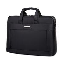 美耐丽笔记本电脑包适用戴尔华硕联想单肩手提女男14寸15.6寸17寸