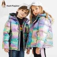 暇步士童装儿童羽绒服冬装新款女童加厚中大童男童羽绒外套