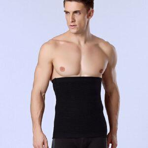 NY014收腹束腹带透气塑身内衣正品塑腰带腰封薄款男