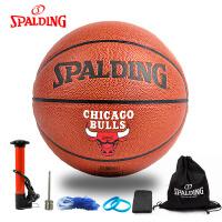 斯伯丁篮球 74-162 芝加哥公牛队 罗斯签名版 PU材质 篮球