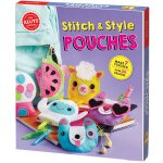 Stitch and Style Pouches 英文原版 手工书:缝制零钱包 小口袋 进口儿童玩具书