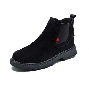 WARORWAR新品YM29-0350A秋冬韩版平底舒适女士靴子短靴