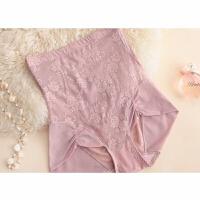 高腰塑身收腹内裤产后女士提臀收胃收腰裤头性感紧身美体薄款 1 紫色 XL