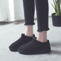 雪地靴女短筒加绒学生韩版百搭棉鞋冬季鞋子靴子女冬短靴