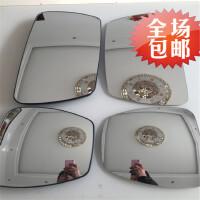 福田戴姆勒欧曼汽车配件 ETX连体倒车镜 后视镜 6系9系反光镜镜片
