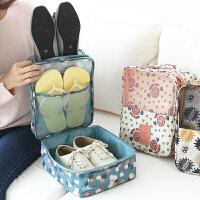 户外旅行收纳袋洗漱包化妆包女便携鞋盒三双出差旅游用品套装