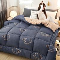 大学生学生宿舍用的单人床被子秋冬太空被学生床冬被棉被芯寝室春