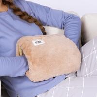 热水袋暖手宝宝充电式暖宝可爱防爆毛绒注水暖水袋