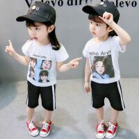 女童夏装休闲运动套装女宝宝洋气夏季小孩婴儿童衣服韩版潮