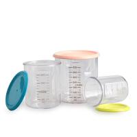 BEABA储存罐 保鲜盒 量杯带刻度 宝宝辅食杯婴儿儿童多功能多用杯