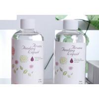 260ml大瓶装香薰精油补充液卧室室内房间香水厕所家用添加液 透明