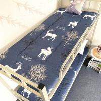 加厚床垫单人床0.9m学生寝室宿舍上下铺床1.0m褥子榻榻米垫子防潮