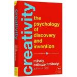 创造力 英文原版 Creativity 心流与创新心理学 Flow 心流之父米哈里希斯赞特米哈伊力作 英文版心理学书籍