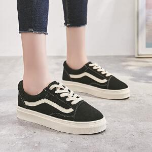 ZHR2018秋季新款韩版板鞋ulzzang单鞋1992鞋子平底休闲鞋百搭女鞋