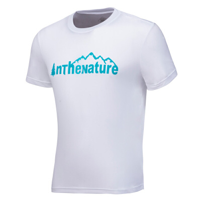 361度男装户外圆领短T恤夏季新款男子修身野外短袖衫热销直降 立即抢购