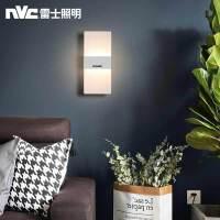 雷士照明壁灯 现代简约长方形床头灯壁灯 优雅时尚卧室书房壁灯灯饰灯具