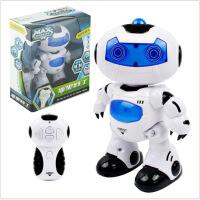 ?儿童玩具批发电动智能遥控机器人灯光音乐跳舞机器人男女生日礼物 官方标配