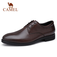 camel骆驼男鞋 秋季新款正装皮鞋牛皮商务办公皮鞋系带差旅皮鞋