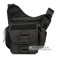 战术摄影包单反相机包休闲包户外单肩斜挎背包鞍袋 魔术贴一枚