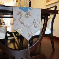 欧式美式样板间家居餐桌桌旗布艺装饰品西餐垫 餐布 布艺桌垫