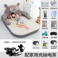 20180517103217157卡通龙猫床气垫床充气床双人家用加大单人床垫加厚户外便携气垫床