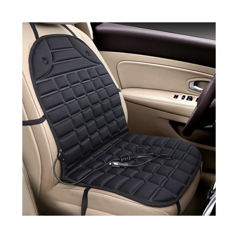 汽车加热坐垫冬季单片座椅保暖车载电热双车座垫12v车用冬天褥子