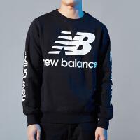 New Balance/NB 男装 运动休闲圆领卫衣套头衫 AMT83549BK