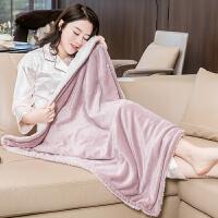 护膝毯暖身毯电热垫小电热毯盖腿办公室坐垫垫暖脚宝