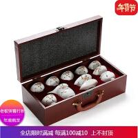 陶瓷羊脂玉白瓷功夫茶具套装家用办公高端档整套盖碗茶具中式