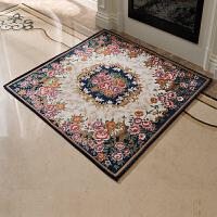 地垫家用卧室客厅茶几地毯正方形北欧门垫吸水防滑脚垫子