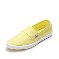 Lacoste法国鳄鱼女鞋套脚一脚蹬休闲帆布鞋 7-28SPW1067