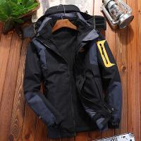 冲锋衣男款三合一两件套户外抓绒登山服女户外保暖外套