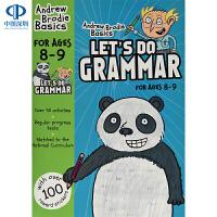 英文原版 英国小学英语语法练习册8-9岁 小学教材 Let's Do Grammar 进口书籍 英文版书