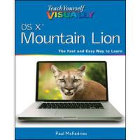 【预订】Teach Yourself Visually OS X Mountain Lion 978111840140