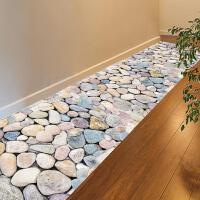 3D立体卫生间鹅软石地贴墙纸自粘墙贴纸衣柜贴防水地板砖瓷砖贴画
