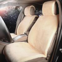 冬季短毛绒汽车坐垫奔驰E200L ML300 ML350保暖长毛绒车垫座套