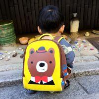 幼儿园大班双肩包1-3-6岁男宝宝背包小女孩可爱包包英国儿童书包