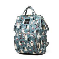 妈咪包多功能大容量双肩包孕妇待产妈妈包旅行背包时尚外出母婴包