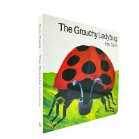 Grouchy Ladybug Board Book 不高兴的瓢虫 纸板书[4-8岁]