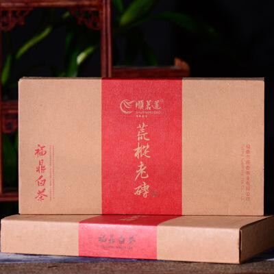 两片一起拍【6年陈期老白茶】2012年原香茶叶公司荒枞老砖百年古树白茶砖600克/砖
