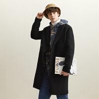 【1件2折到手价:191.2】美特斯邦威大衣男冬季新款韩版潮流学生休闲保暖长款大衣男