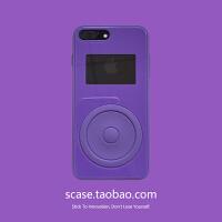 ins网红同款播放器苹果X手机壳iPhone7plus情侣潮牌8X软女Xs max 7/8代(4.7)播放器 白色