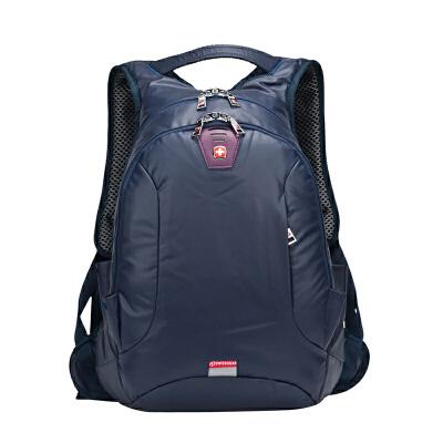 瑞士军刀旅行背包书包防水面料男士双肩包14寸电脑包休闲学院风