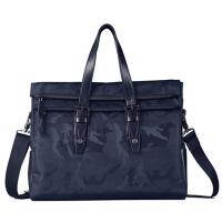时尚手提包公文包男士旅行包多功能文件包袋男