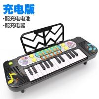 电子琴儿童玩具宝宝早教音启蒙乐小钢琴小女孩玩具琴1-2-3岁a171 (充电版)